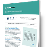 FTI Consulting - Case Study
