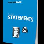 Chrome River STATEMENTS [fr] - Suivez les dépenses et comparez-les avec les relevés bancaires. Voir la fiche d'informations