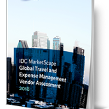 IDC Names Leaders for Global Expense Management [de] - IDC nennt die führenden Anbieter im Reisekostenmanagement
