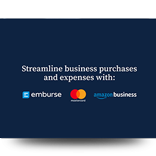 Streamline Business Purchases - with Emburse, Amazon Business and Mastercard