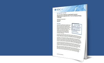 IDC ExpertROI Case Study - Travel and Expense Management