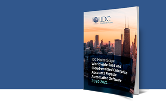 IDC MarketScape - Cloud Enterprise AP Automation