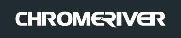 Chrome River logo - reversed