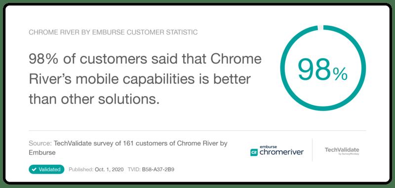 Chrome River Mobile Capabilities