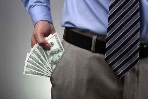 Bribes, Speed Money, Extortion, Expense Reporting Fraud